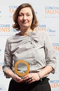 marie pierre bessac lauréate régionale - concours talents bge