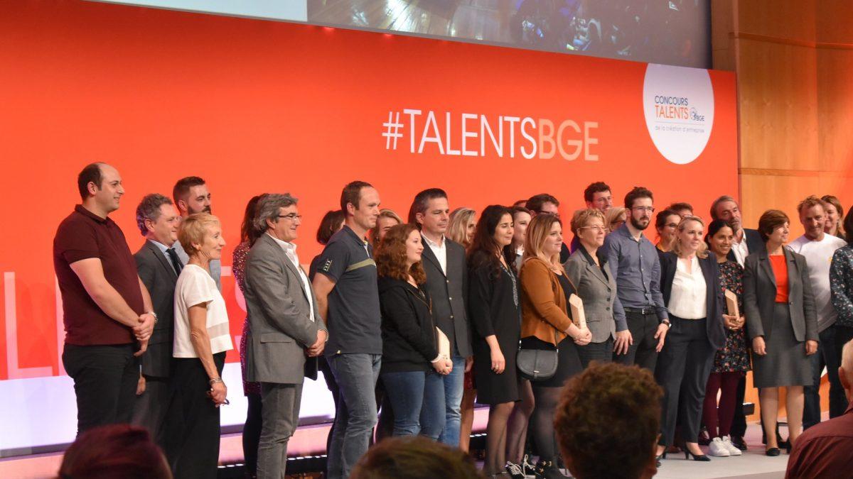 Photo des lauréats du Concours Talents BGE