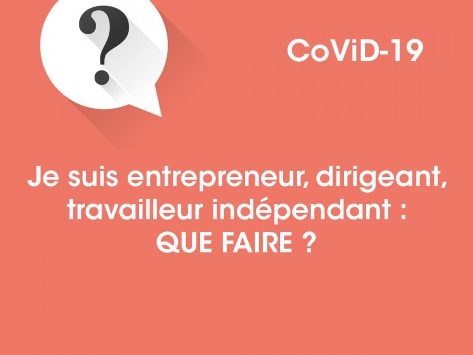Covid19 : que faire ?