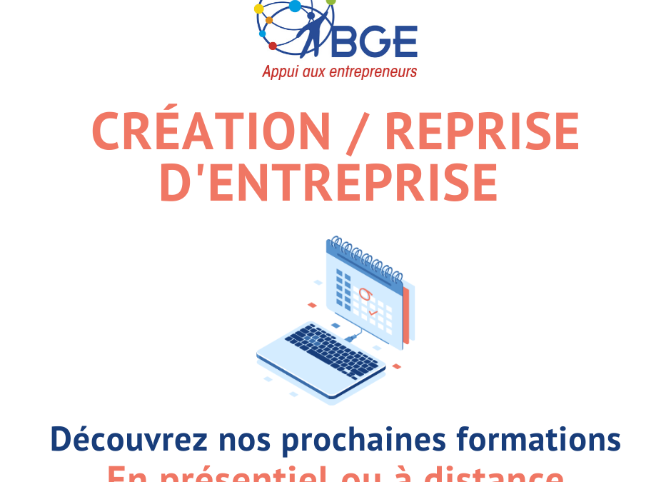 Formations création entreprise BGESO 2020