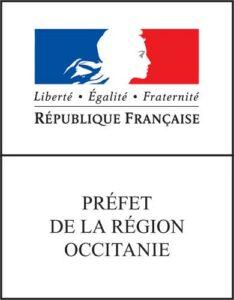logo prefet de la région occitanie