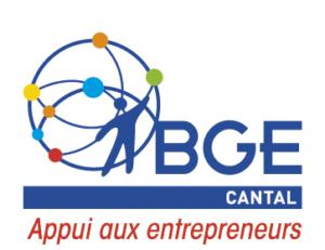 Logo BGE Cantal - appui aux entrepreneurs