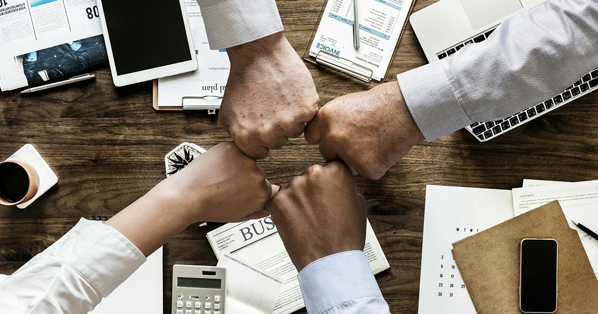 groupe de partenaires financiers