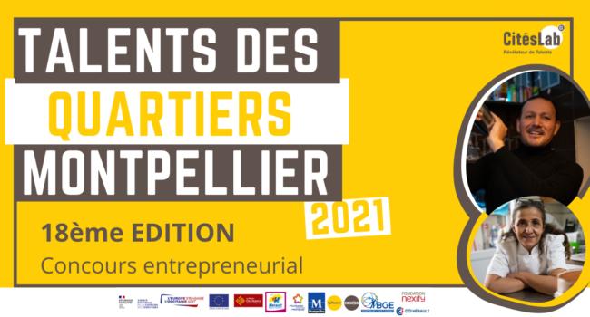 Talents des Quartiers Montpellier - Citélabs - 2021